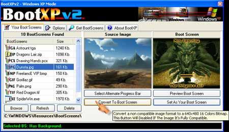 BootXP Screenshot