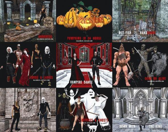 Jigetiser Wallpaper 1280 - Halloween 2005 Screenshot