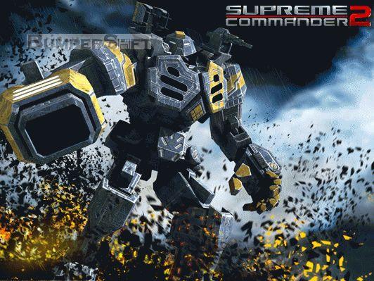 Supreme Commander 2: UEF Wallpaper Screenshot