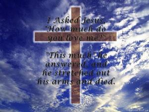 I Asked Jesus... Wallpaper Screenshot