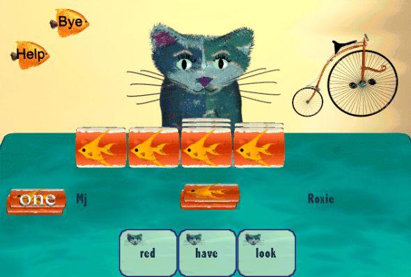 Roxie's Reading Fish Screenshot