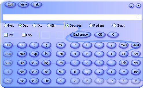 Microsoft Calculator Plus Screenshot