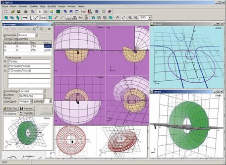 3DMath Explorer Screenshot