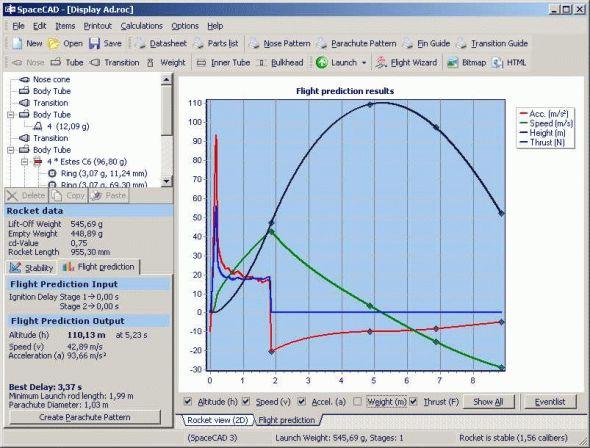 SpaceCAD Screenshot
