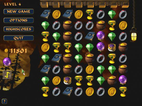 Treasure Fall Screenshot