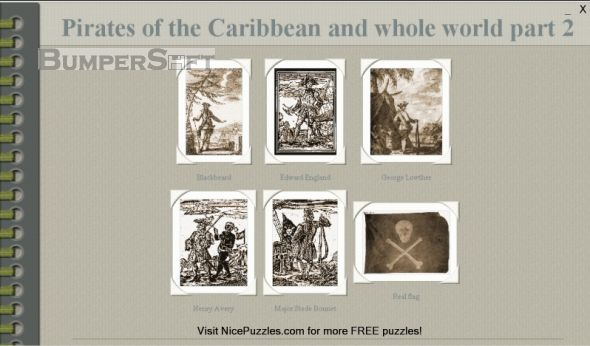Pirates of Caribbean and World Puzzle 2 Screenshot