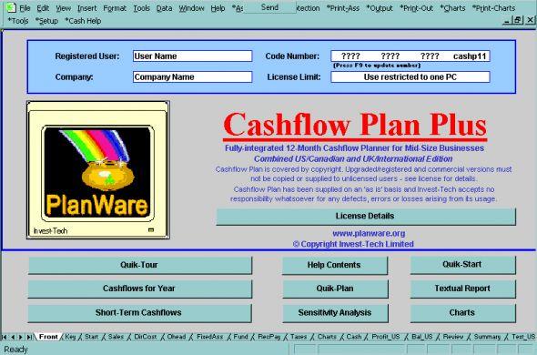 Cashflow Plan Super Screenshot