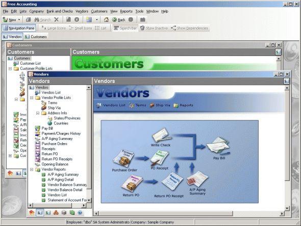 Free Accounting Screenshot