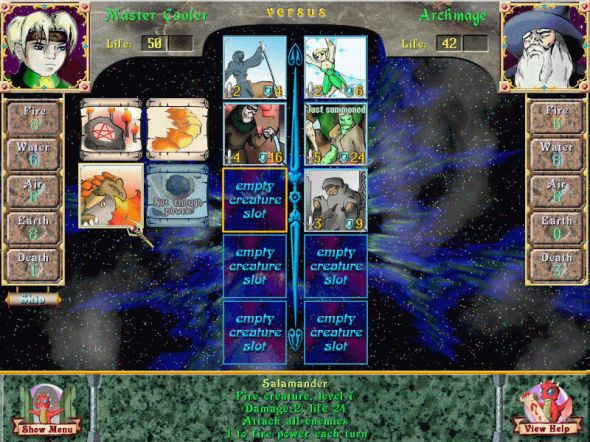 Astral Tournament Screenshot
