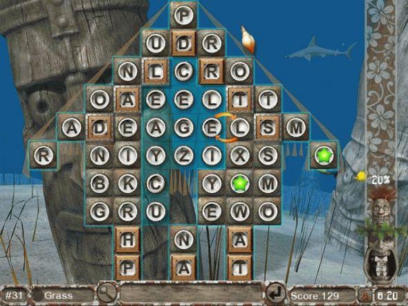 Big Kahuna Words Screenshot