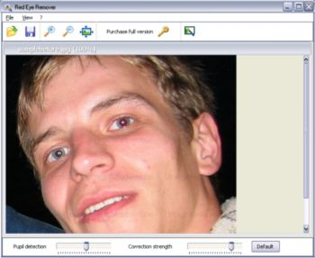 Anti Red Eye Screenshot