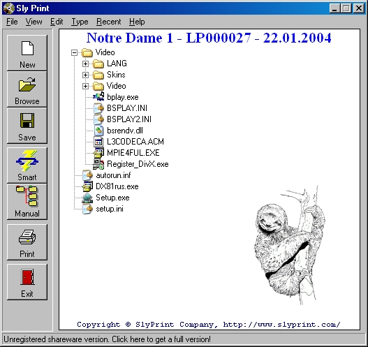 SlyPrint Screenshot