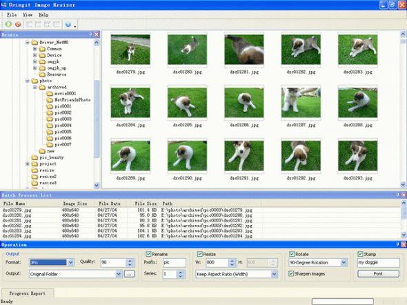 Usingit Image Resizer Screenshot