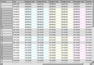 Smartworks Project Planner Reader Screenshot