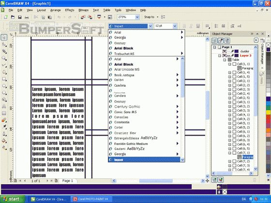 CorelDRAW Graphics Suite Screenshot