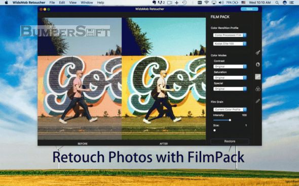 WidsMob Retoucher Screenshot