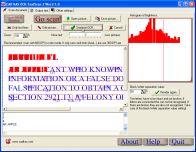 OCR-TextScan 2 Word Screenshot