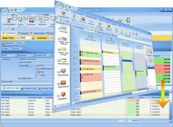 OrgFinances Screenshot