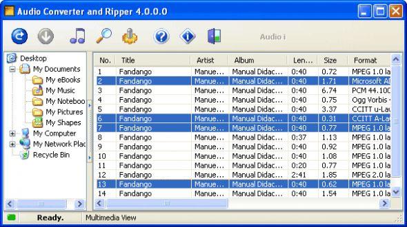 Complete Audio Converter Pro Screenshot