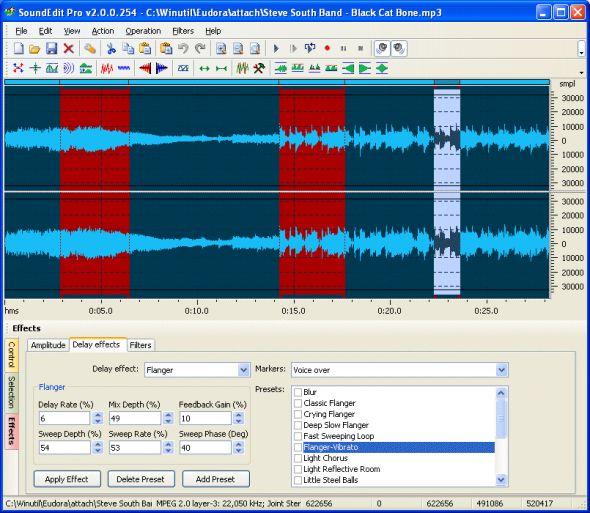 SoundEdit Pro Screenshot