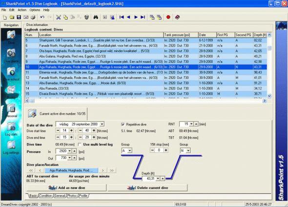 SharkPoint for Windows Screenshot