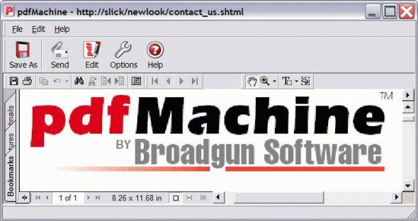 pdfMachine Screenshot