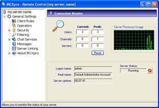 IRCXpro Screenshot