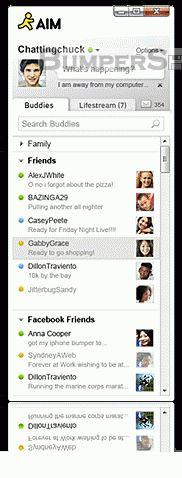 AOL Instant Messenger (AIM) Screenshot