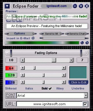 Eclipse Fader for AOL Screenshot