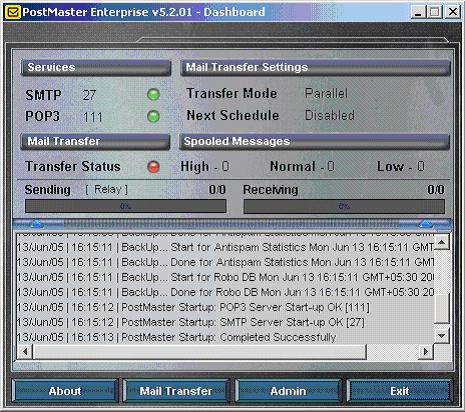 PostMaster Enterprise Screenshot