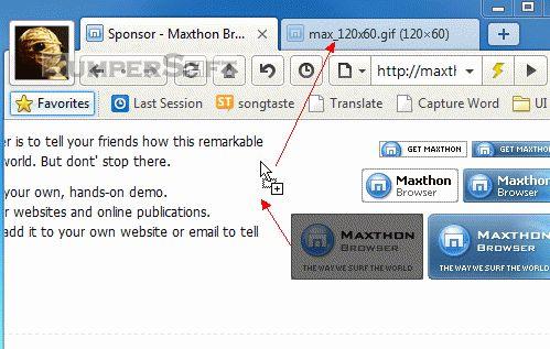 Maxthon 3 Screenshot