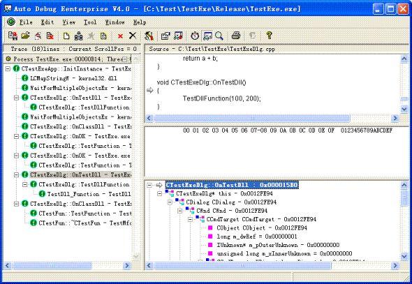 Auto Debug for Windows Screenshot