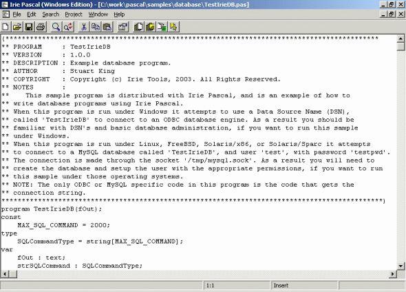 Irie Pascal Screenshot