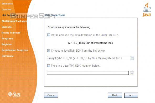 Java SE Development Kit (JDK) Screenshot