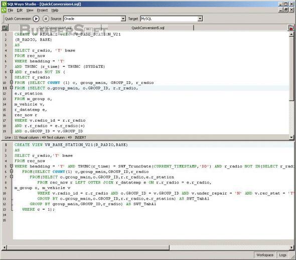SQLWays Screenshot