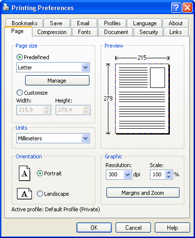 novaPDF Pro Screenshot