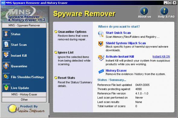 Max Net Shield Screenshot