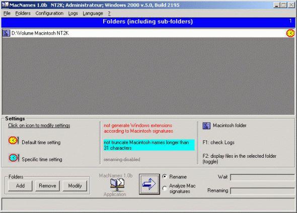 MacNames Screenshot