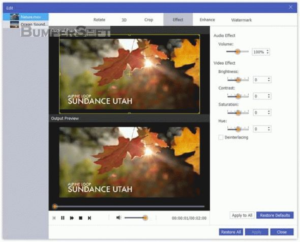 Apeaksoft Video Converter Ultimate Screenshot