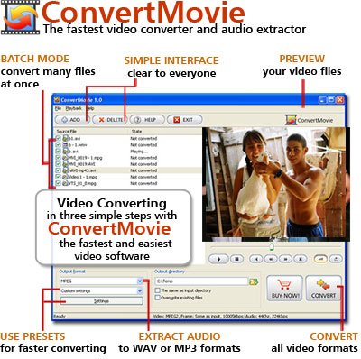 ConvertMovie Screenshot