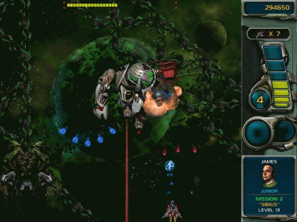 Star Defender 3 Screenshot