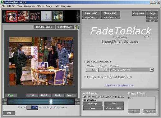 FadeToBlack Screenshot