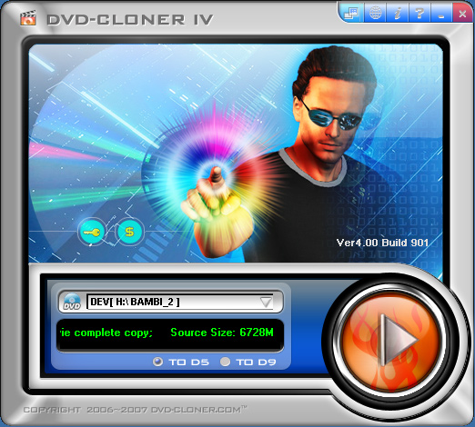 DVD-Cloner IV Screenshot