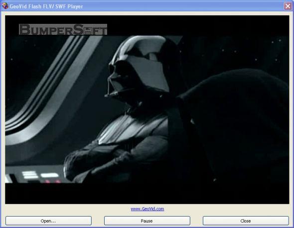 Video to Flash Console Screenshot