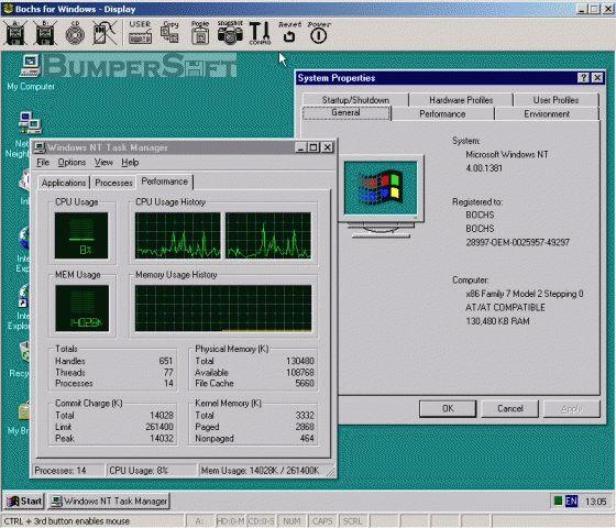 Bochs Screenshot
