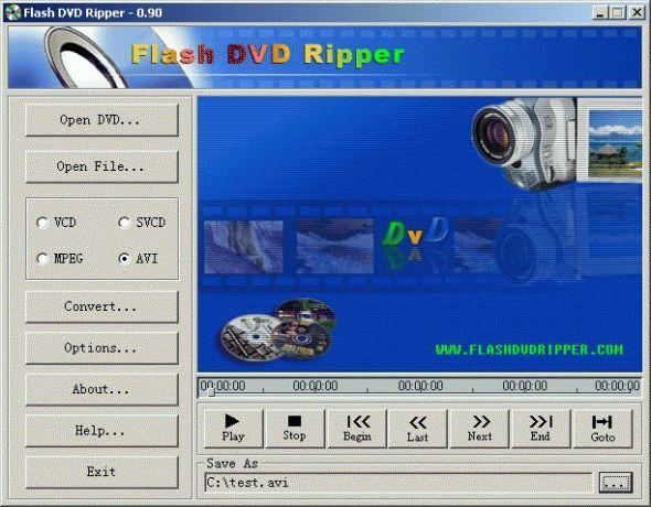 Flash DVD Ripper Screenshot