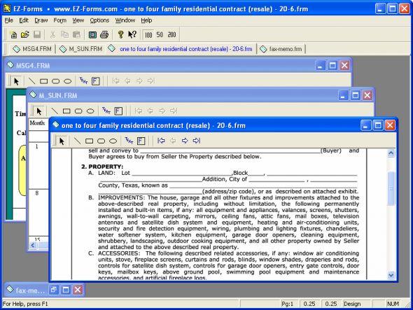 EZ-Forms ULTRA Screenshot