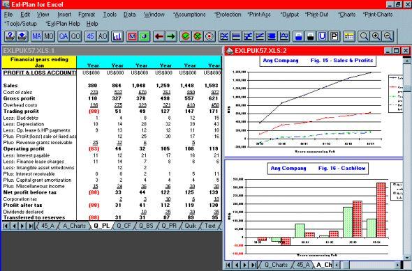 Exl-Plan Free (US-C edition) Screenshot