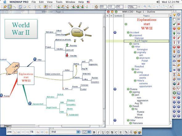 ConceptDraw MINDMAP Screenshot
