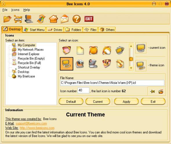 Bee Icons Screenshot